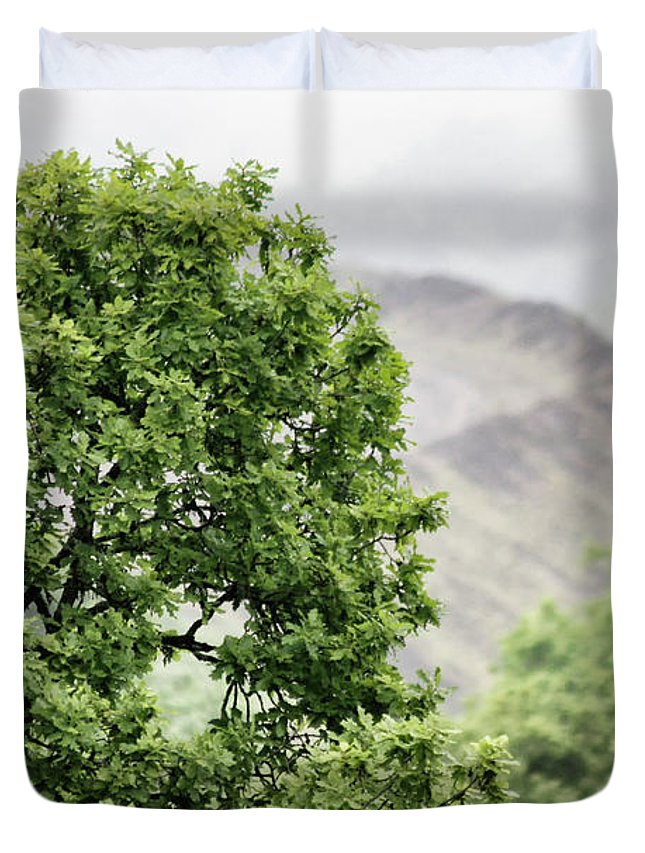 Non_city Duvet Cover featuring the photograph Countryside by Frances Lewis
