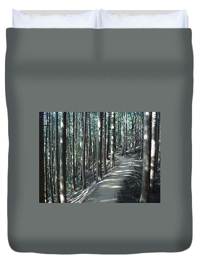 Non_city Duvet Cover featuring the photograph Forestry by FL collection