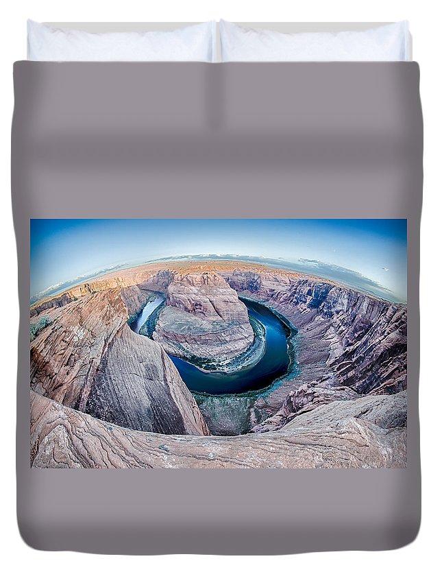 Zion Duvet Cover featuring the photograph Zion Canyon National Park Utah by Alex Grichenko