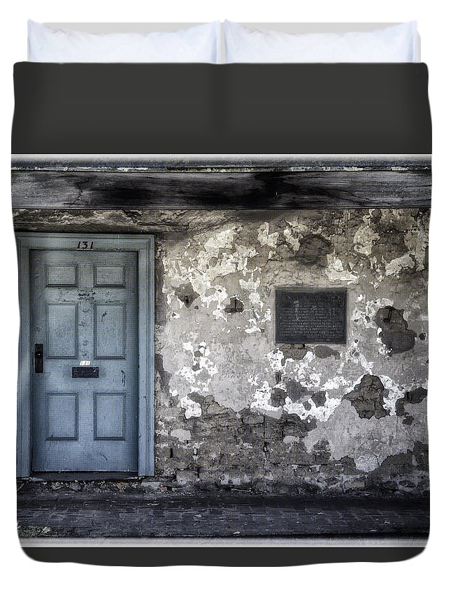 Age Duvet Cover featuring the photograph 131 by Joan Carroll