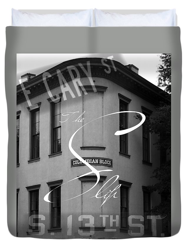Shockoe Slip Duvet Cover featuring the photograph 13th And Cary by Kelvin Booker