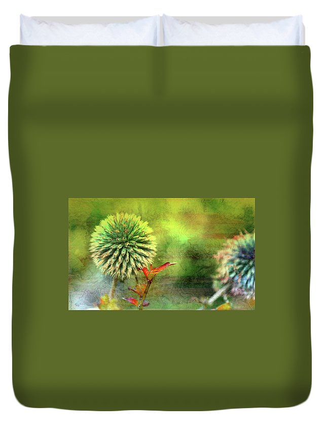 American Beach Cottage Art And Feelings Duvet Cover featuring the photograph American Beach Cottage Art And Feelings by Paul Ranky