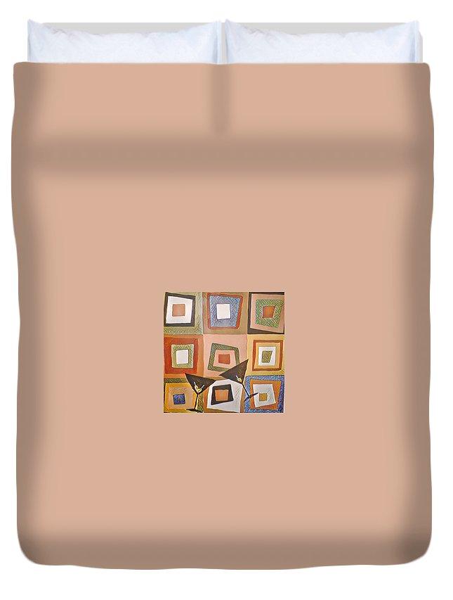 Duvet Cover featuring the digital art Martini by Melinda Sullivan Image and Design