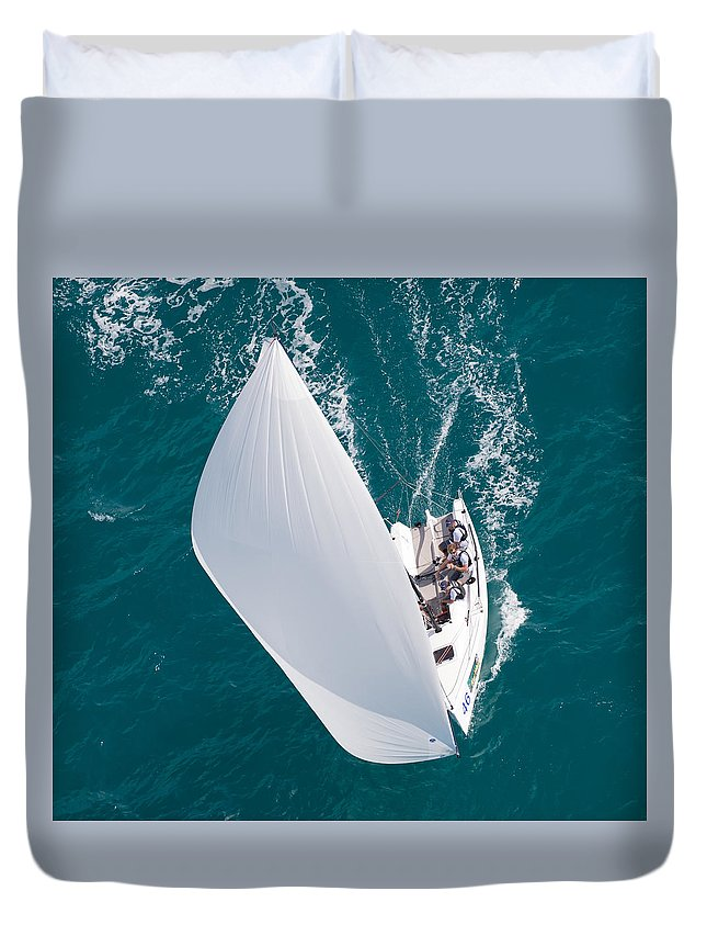 Water Duvet Cover featuring the photograph Watercolors by Steven Lapkin