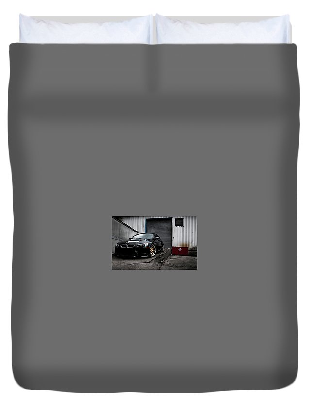 Bmw Duvet Cover featuring the photograph Bmw by Mariel Mcmeeking