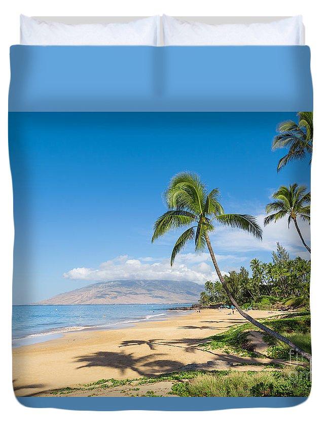 Beach Duvet Cover featuring the photograph Tropical Beach by Mariusz Blach