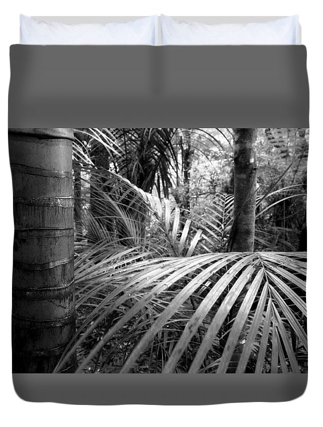 Rain Forest Duvet Cover featuring the photograph Jungle by Les Cunliffe