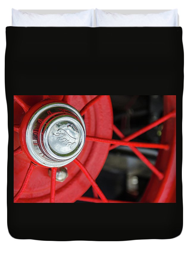 Gaetano Chieffo Duvet Cover featuring the photograph 1929 Ford Speedster by Gaetano Chieffo