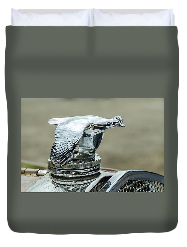 Gaetano Chieffo Duvet Cover featuring the photograph 1931 Ford Model A Roadmaster by Gaetano Chieffo