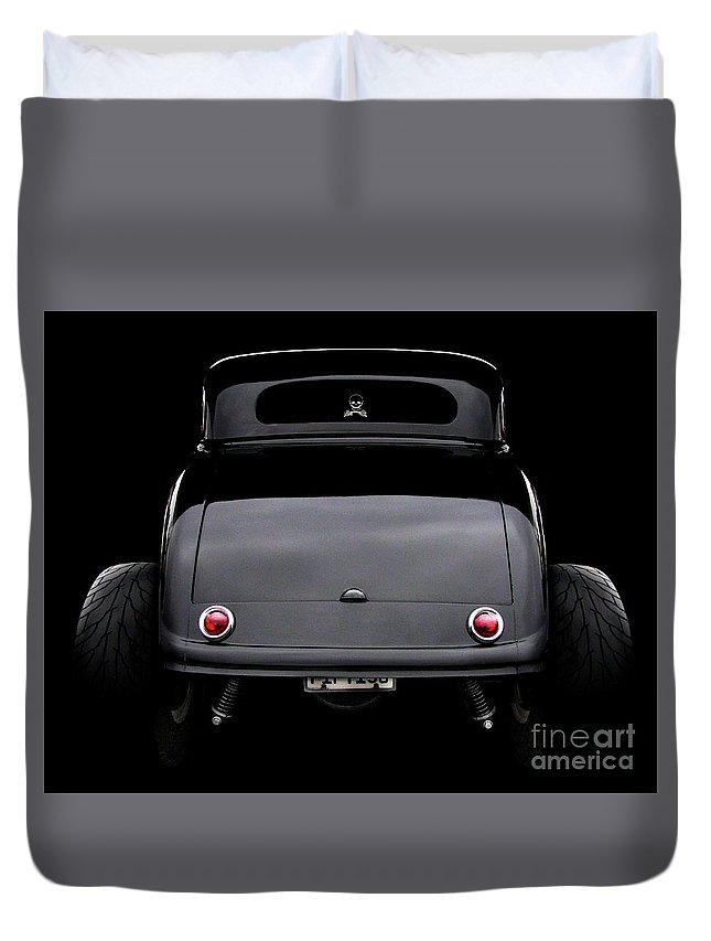 1934 Ford 3 Window Coupe Duvet Cover featuring the photograph 1934 Ford 3 Window Coupe by Peter Piatt