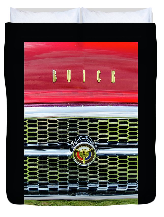 Gaetano Chieffo Duvet Cover featuring the photograph 1955 Buick Rodmaster by Gaetano Chieffo