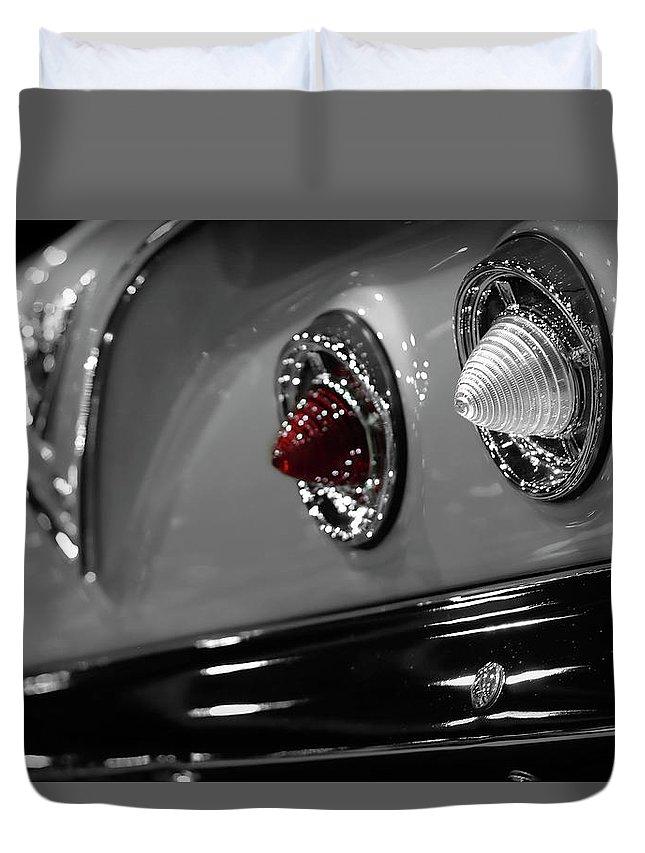 1961 Duvet Cover featuring the photograph 1961 Chevrolet Impala by Gordon Dean II