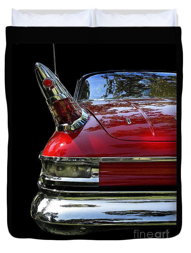 1961 Desoto Duvet Cover featuring the photograph 1961 Desoto by Peter Piatt