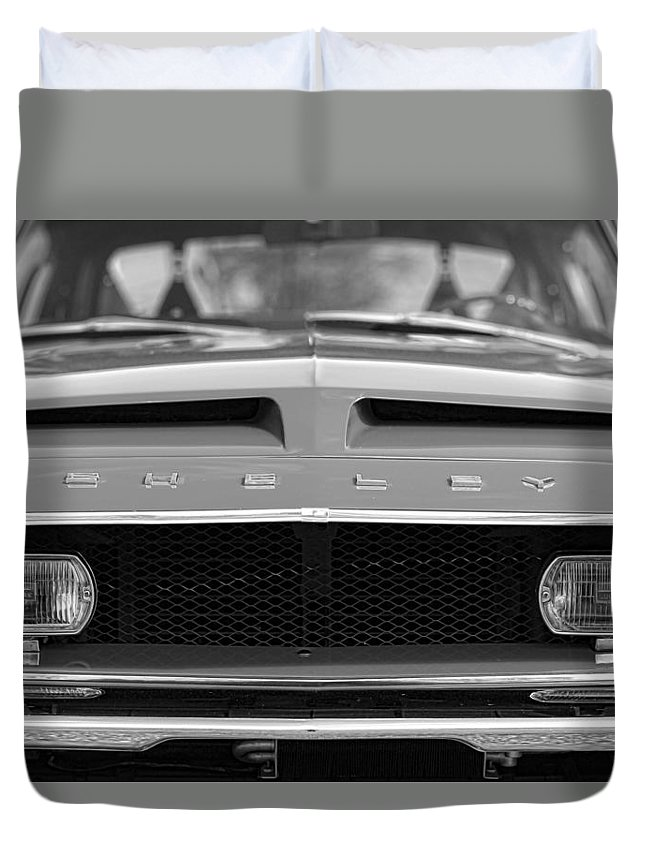 1968 Duvet Cover featuring the photograph 1968 Ford Mustang Shelby Gt500 Kr - King Of The Road by Gordon Dean II