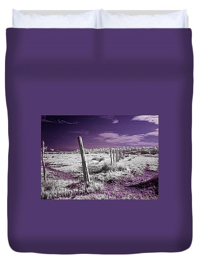 Desert Duvet Cover featuring the photograph Desertic Landscape by Galeria Trompiz