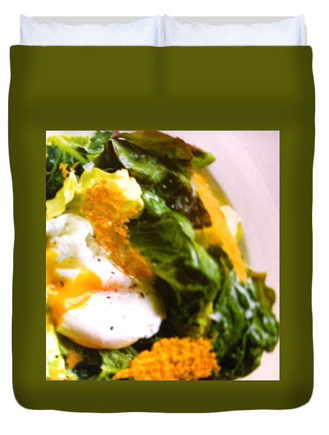 Figs Duvet Cover featuring the photograph Eggs by Lord Frederick Lyle Morris - Disabled Veteran