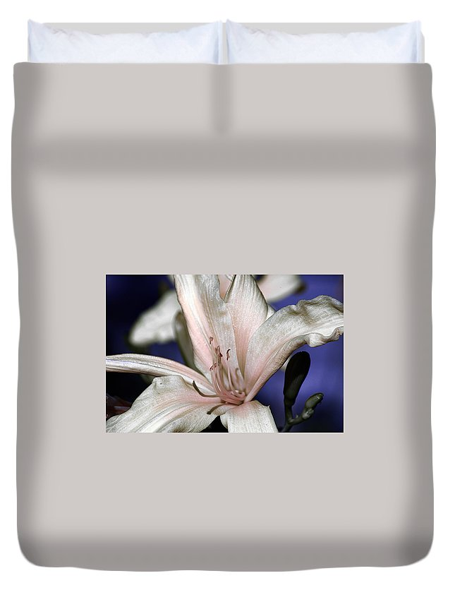 Clay Duvet Cover featuring the photograph Floral by Clayton Bruster