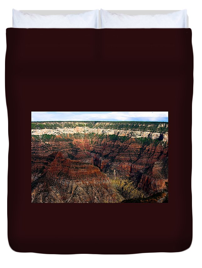 Grand Canyon Duvet Cover featuring the photograph Grand Canyon by James BO Insogna