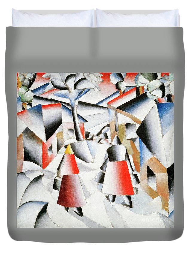 Rayonism Duvet Covers