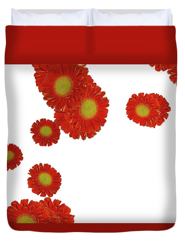 Flowers Duvet Cover featuring the photograph Nice Patterns by Elvira Ladocki
