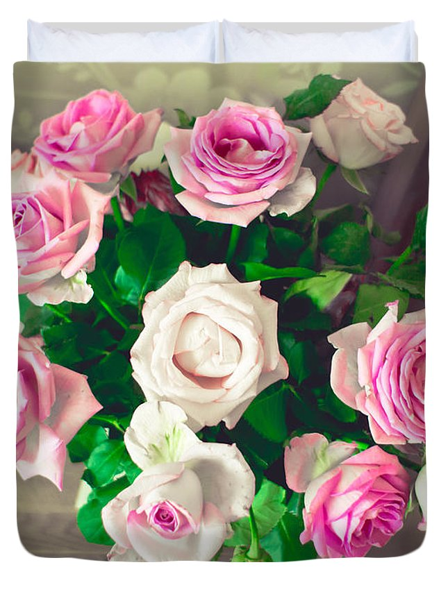 Wedding Bouquet Duvet Covers