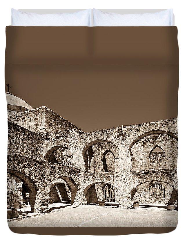 San Antonio Duvet Cover featuring the photograph San Antonio by Sebastian Musial