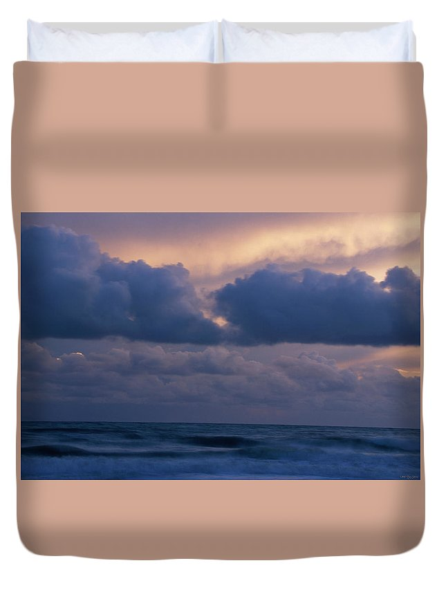 Ocean Duvet Cover featuring the photograph Santa Barbara Coast by Soli Deo Gloria Wilderness And Wildlife Photography