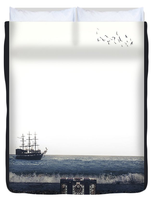 Treasure Duvet Cover featuring the photograph Treasure Chest by Joana Kruse