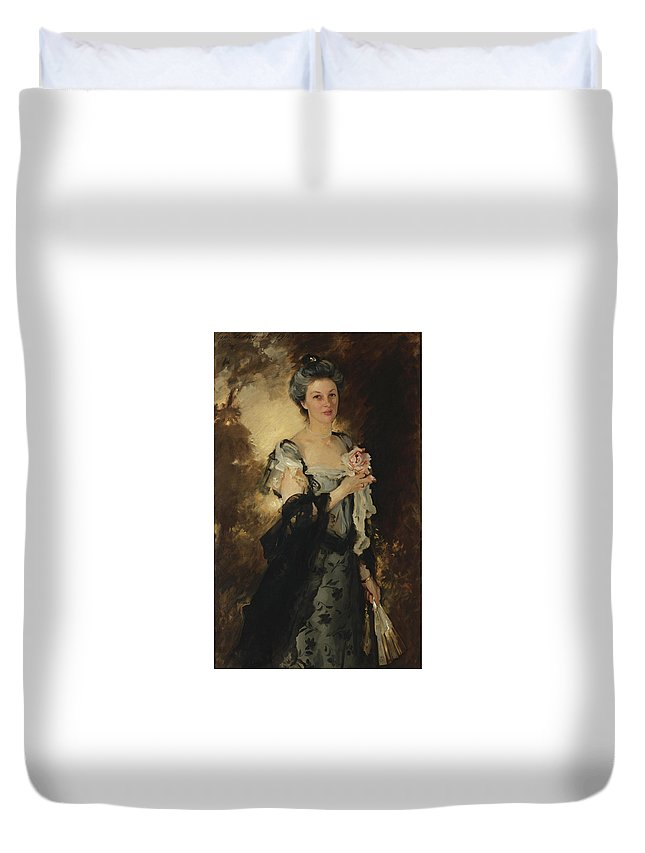 John Singer Sargent Duvet Cover featuring the painting William Crowninshield Endicott by John Singer