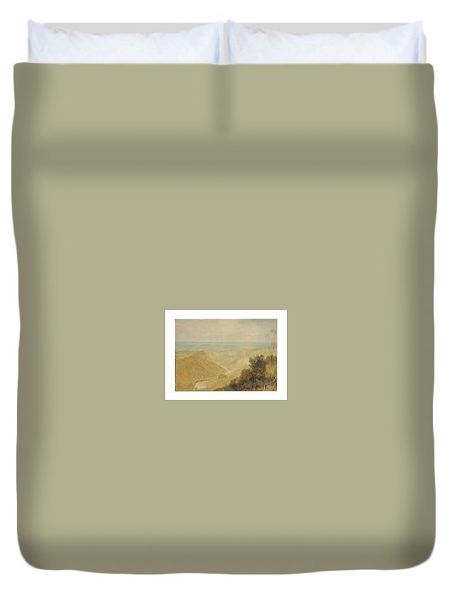 Joseph Mallord William Turner Duvet Cover featuring the painting William Turner by Joseph Mallord