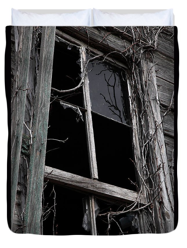 Windows Duvet Cover featuring the photograph Window by Amanda Barcon