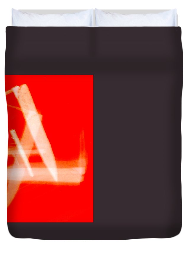 Abstract Duvet Cover featuring the photograph Abstract Photography by Vinod Madhok