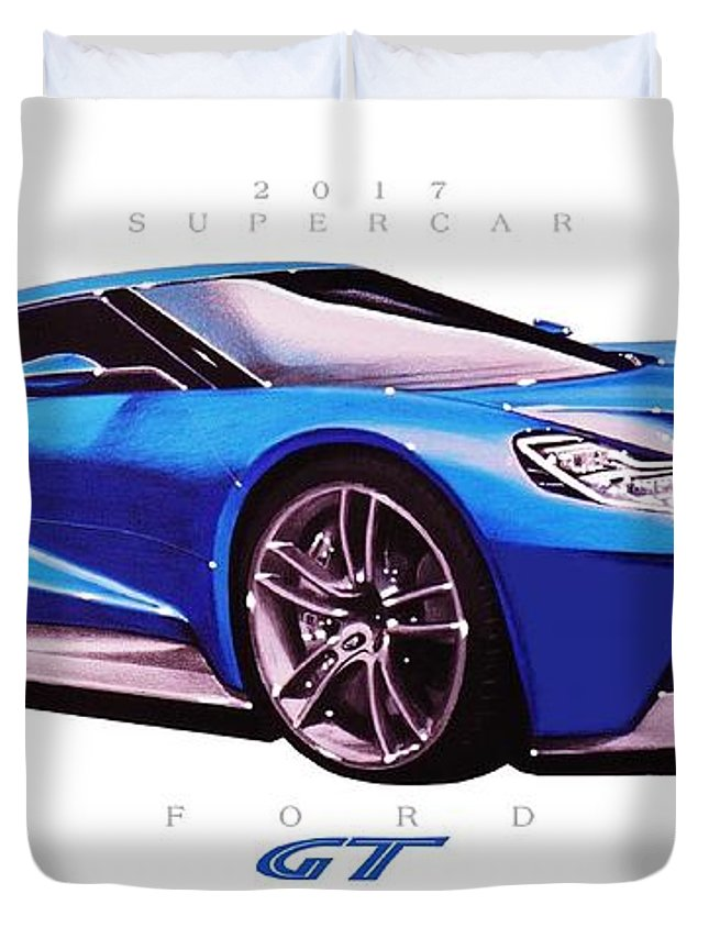 Ford Gt Supercar Duvet Cover For Sale By Brian Roland Rh Fineartamerica Com