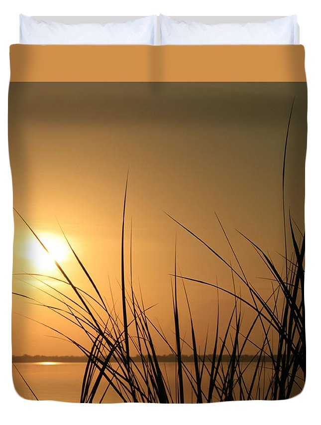 Wgilroy Duvet Cover featuring the photograph Sunrise / Sunset / Indian River by W Gilroy
