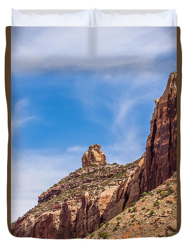 Canyonlands Duvet Cover featuring the photograph Views Of Canyonlands National Park by Alex Grichenko
