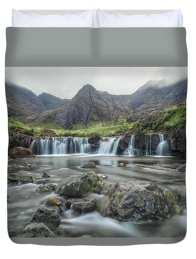 Fairy Pools Duvet Cover featuring the photograph Fairy Pools - Isle Of Skye by Joana Kruse