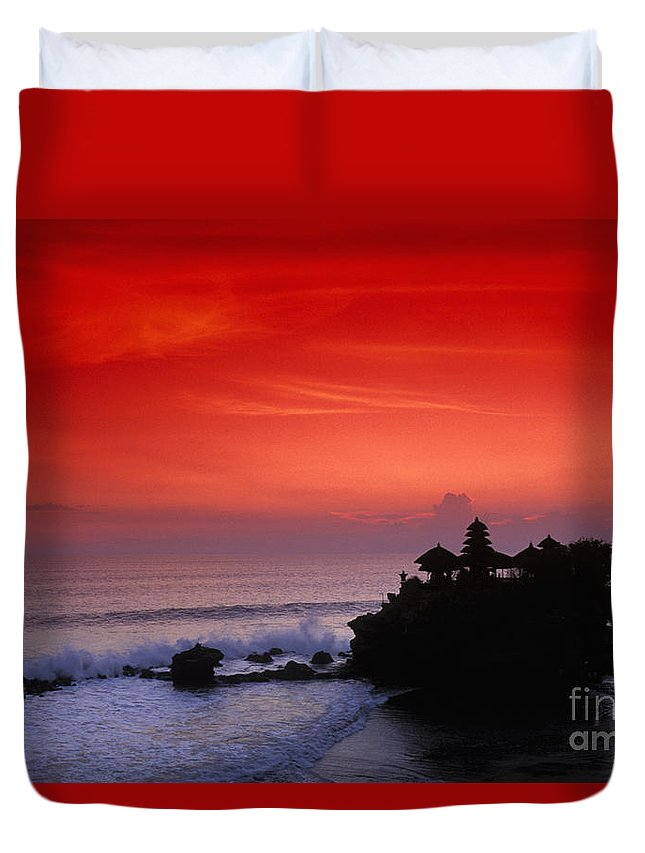 Bali Duvet Cover featuring the photograph Indonesia, Bali by Gloria & Richard Maschmeyer - Printscapes