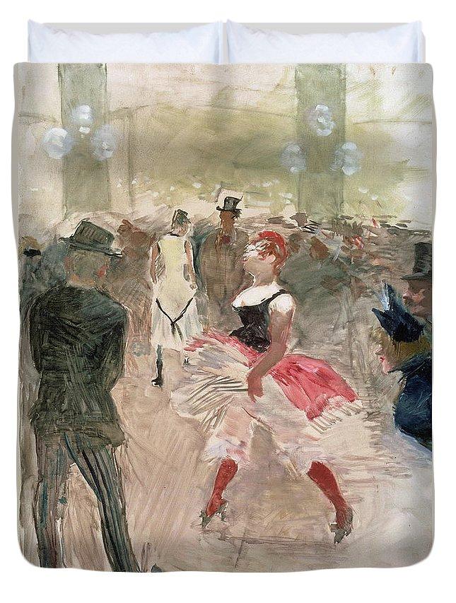 Dancer Duvet Cover featuring the painting Lautrec by Henri De Toulouse