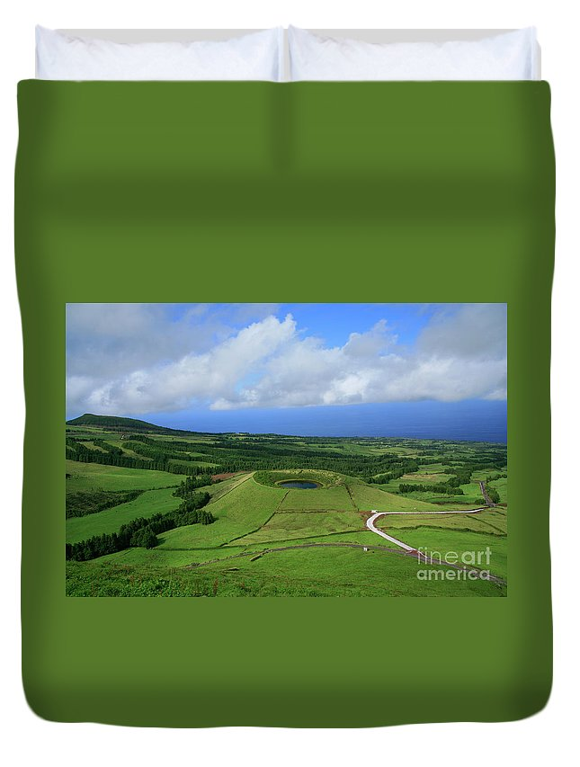 Azores Duvet Cover featuring the photograph Sao Miguel - Azores by Gaspar Avila
