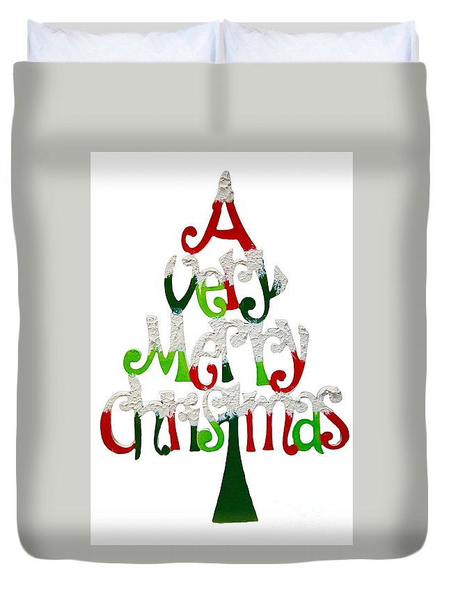 Witchcraft Duvet Cover featuring the digital art Christmas. by Frederick Holiday