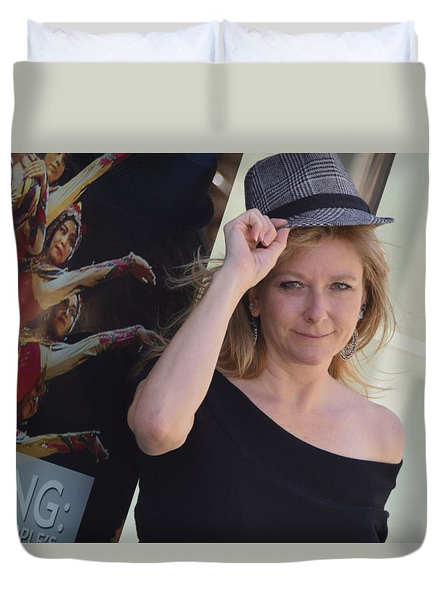 Artist Duvet Cover featuring the photograph Art Of Life by Marit Runyon