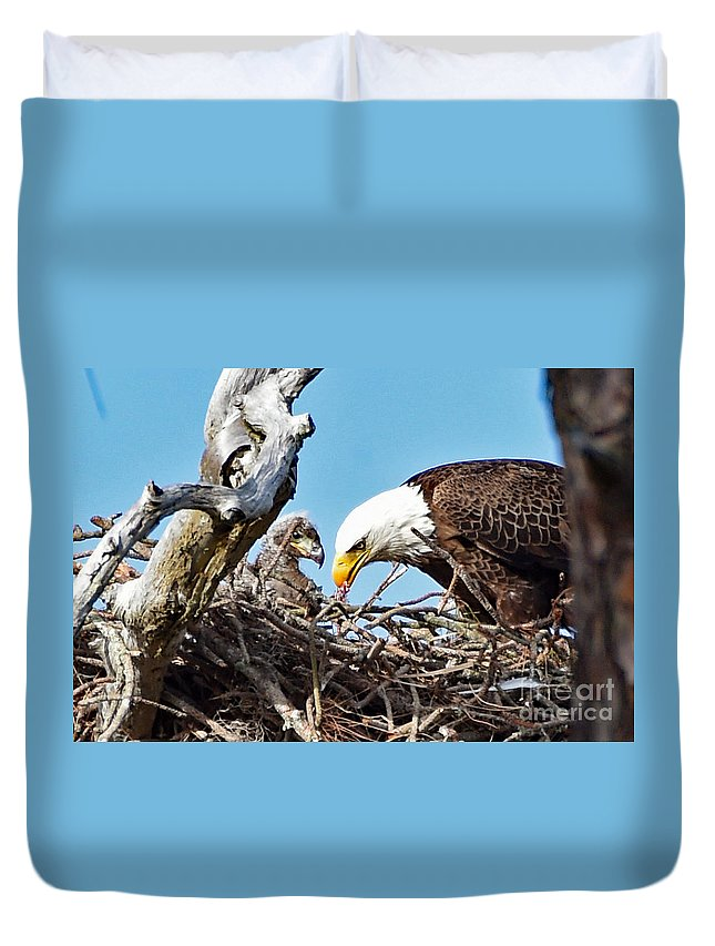 Duvet Cover featuring the photograph 3500 by Don Solari