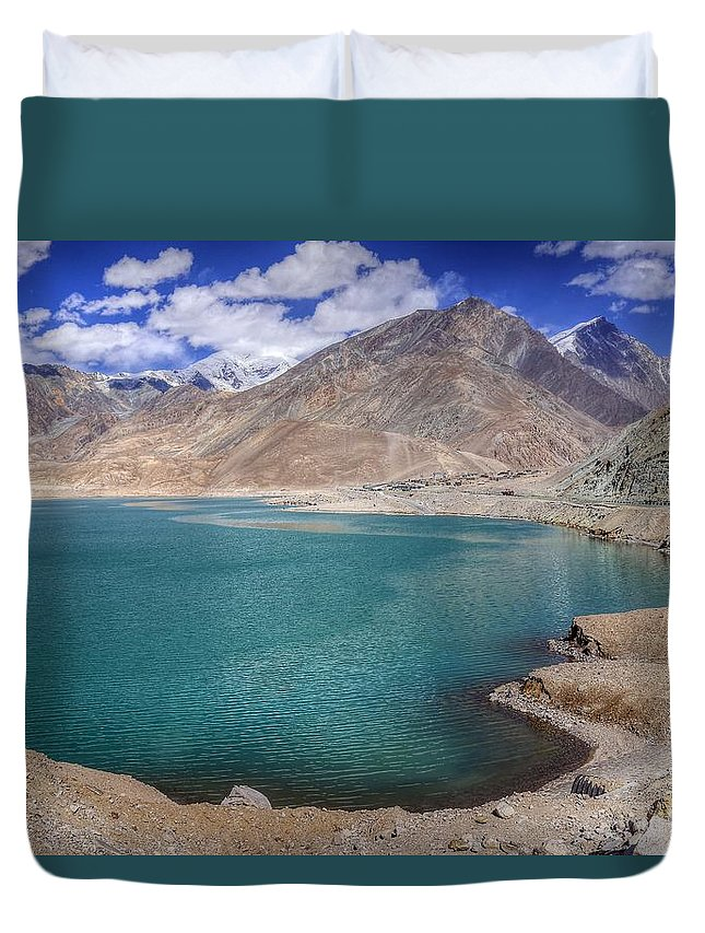 Xinjiang Province China Duvet Cover featuring the photograph Xinjiang Province China by Paul James Bannerman