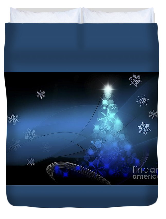 Witchcraft Duvet Cover featuring the digital art Christmas by Frederick Holiday