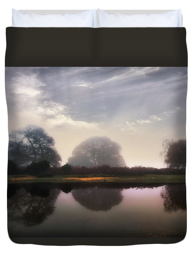 New Forest Duvet Cover featuring the photograph New Forest - England by Joana Kruse