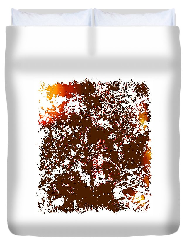 Acrylic Duvet Cover featuring the painting Empathy by Dirk Weed