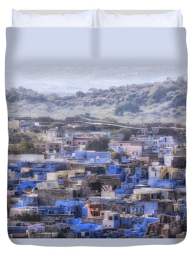 Jodhpur Duvet Cover featuring the photograph Jodhpur - India by Joana Kruse