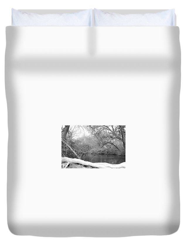Landscape Duvet Cover featuring the photograph Park by Joslyn Hoehn