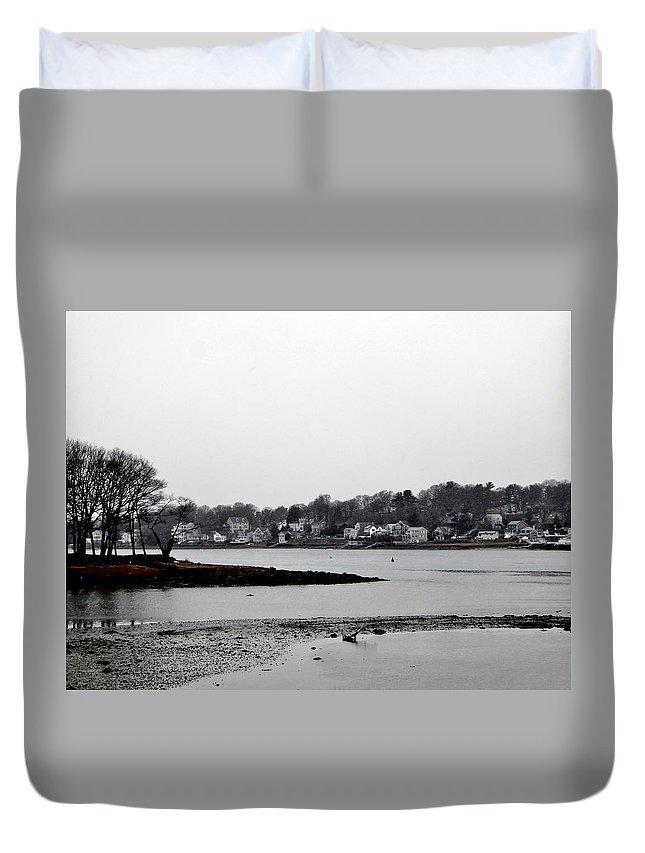 Duvet Cover featuring the photograph South Terrace by Scott Hufford