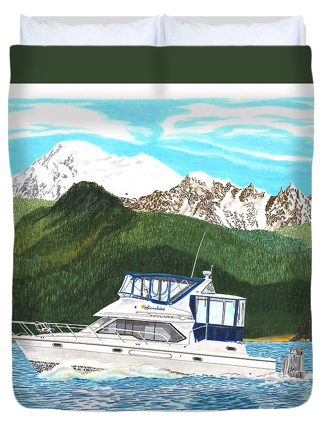 Bayliner Paintings Duvet Covers